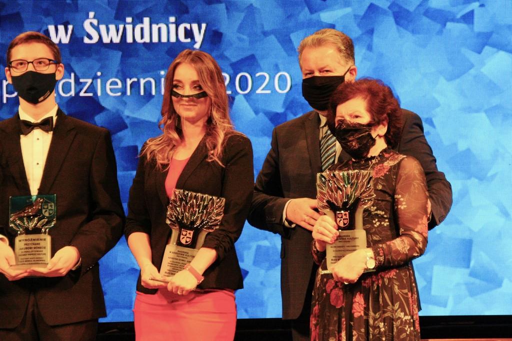 Nagroda kulturalna dla Heleny Semenetz, fot. Aleksander Kwiatkowski